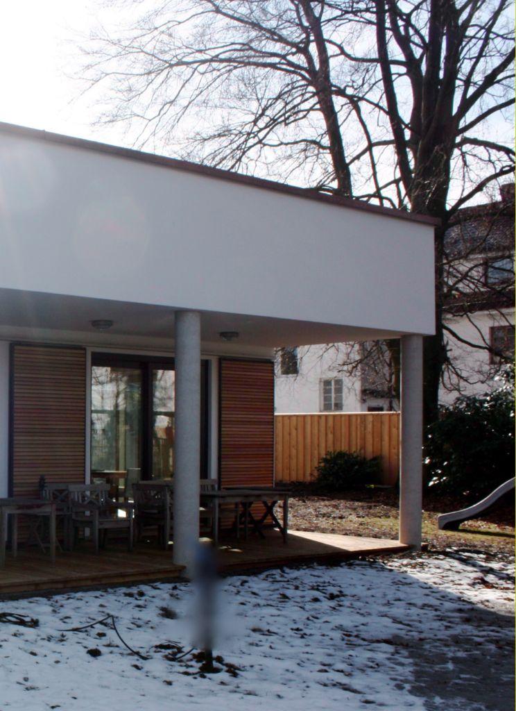 anbau an ein villa in m nchen. Black Bedroom Furniture Sets. Home Design Ideas