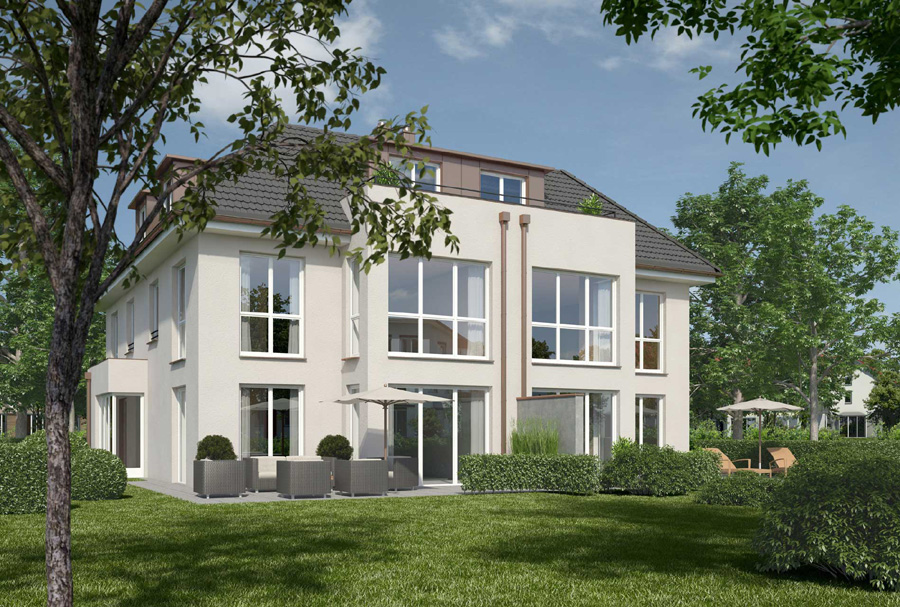 Doppelhäuser Beate Goll Architekturbüro