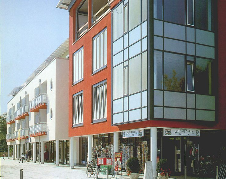 Wohn- und Geschäftshaus mit Gastronomie in Neufahrn