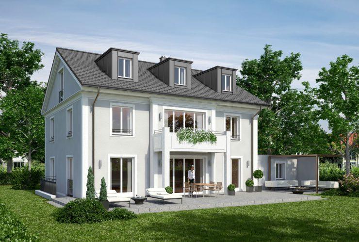 Einfamilienwohnhaus in Grünwald