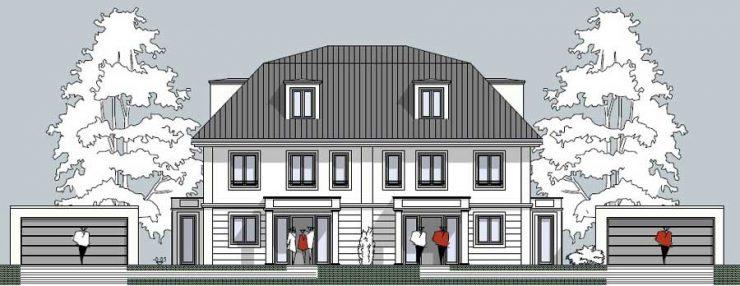 Doppelhaus an den Römerhügeln
