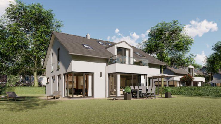 2 Einfamilienhäuser in Baldham